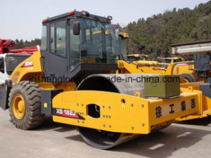Road Machine Single Drum Vibratory Road Roller 18ton pictures & photos