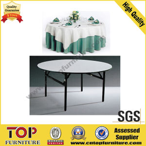 Folding Laminate Banquet Restaurant Table for Hotel pictures & photos