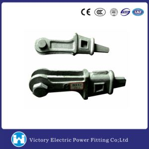 Line Hardware Fitting Galvanized Steel Wedge Clamp pictures & photos