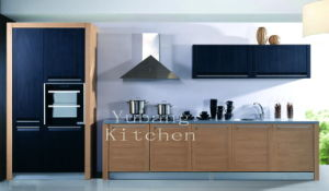 New Design PVC Kitchen Cabinet (YB-34) pictures & photos