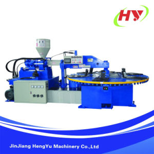 Rotary Type Single Color Plastic Injection Moulding Machine pictures & photos