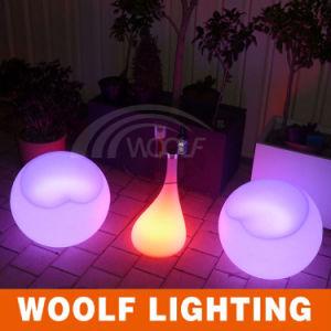 Modern LED Glass Centre Tea Table Design pictures & photos