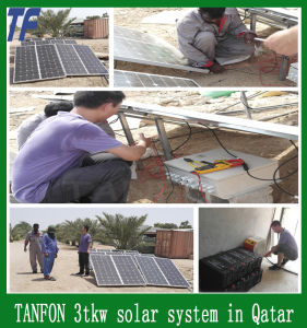 10000W Solar Home System, Solar Panel Kit 10kw Solar System for Pakistan Philippines, Nigeria Market pictures & photos