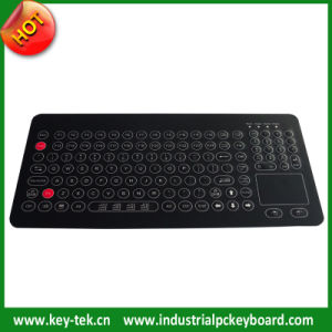 Waterproof Keyboard with Touchpad and Numeric Keypad (K-TEK-D379TP-KP-FN)