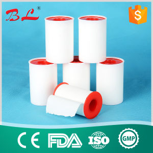 Hypoallergenic Surgical Snowflakes Zinc Oxide Adhesive Plaster Tape in Metal Tin Pack pictures & photos