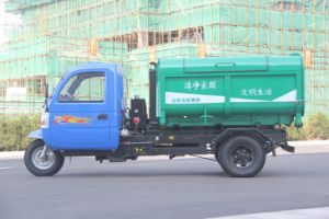 Carriage Detachable Type Garbage Truck pictures & photos