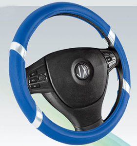 PVC with PU Steering Wheel Cover (BT7298E) pictures & photos