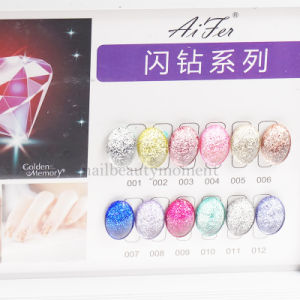 Nail Beauty UV Glitter Sparkle Gel Art Nail Products (UG30) pictures & photos