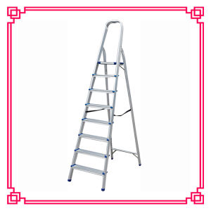Aluminum Multi-Purpose Scaffold Ladder with 8steps pictures & photos