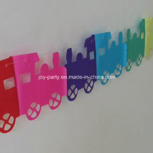 Colorful Paper Garlands for Children Birthday Party