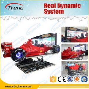 Hot Sales 4D Car Racing Simulator Car Driving Simulator pictures & photos