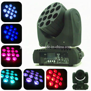 12PCS 10W RGBW Super Beam LED Moving Head Light pictures & photos