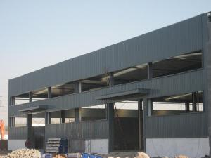 Prefabricated Modular Easy Installation Steel Structure Workshop pictures & photos