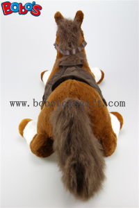 "20.5""/30"" The Simulation Horse Toy Plush Stuffed Horse Aniamls Toy Bos1188 pictures & photos"