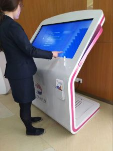 Floor Standing (from 21.5 inch to 84 inch) Touch Interactive Screen All in One Kiosk pictures & photos