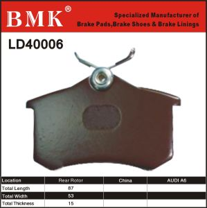 Environment Friendly Brake Pad (LD40006) for Audi A6 pictures & photos