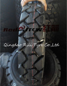18*7-8/ 28*9-15/ 500-8/ 600-9 /650-10 Tubed Forklift Tire with Inner Tube and Flap pictures & photos