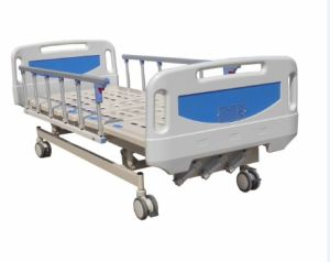 Thriple Cranks Mechanical Hospital Medical Patient Bed (A-11) pictures & photos