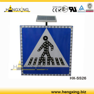 Hx-Ss26 Solar-Traffic-Sign/LED Signals/LED Traffic Sign