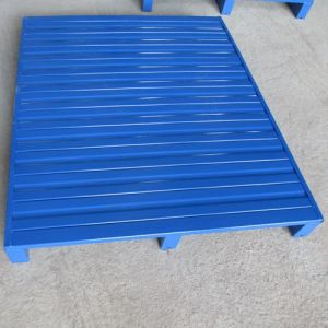 Metal Steel Pallet in Blue Color Steel Pallet storage Equipment pictures & photos