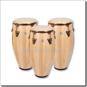 Solidwood Conga Drum Set/Tumbadora (ACOG100NW) pictures & photos