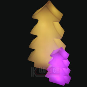 Xmas Tree Cordless LED Lamp Colorful Wood Lamp pictures & photos