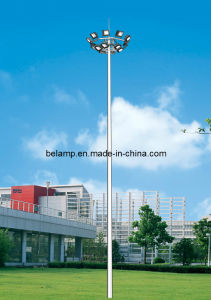 Q235 Rolled Steel High Mast Light