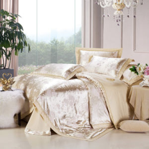 Luxurious Silk Comfortable Cover Bedding Set