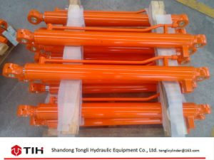 OEM Parts for Doosan Excavator, Boom Cylinder Dh220 Hydraulic Cylinder pictures & photos