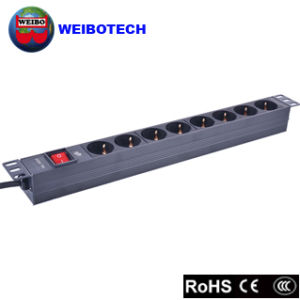 Cabinet PDU of 8 Jacks German