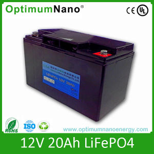 LiFePO4 Battery Pack 12V 20ah Deep Cycle for Solar Power pictures & photos