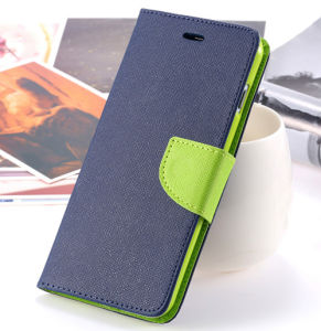 Multi-Functionally Leather Case Bag for Mobile Phone Hard Back Cover with Card Slots Case Wallet and Card Slots Case pictures & photos