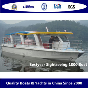 Bestyear Sightseeing 1800 Boat pictures & photos