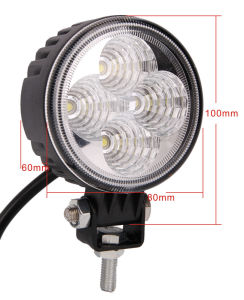 9W LED Working Lights, 12V Offroad LED Light, 9W LED Working Light for Car pictures & photos