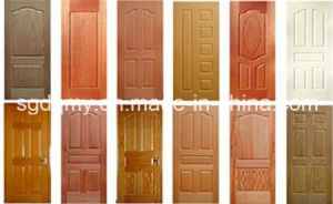 High Quality Melamine Door Skin/HDF Door Skin/Moulded Door Skin pictures & photos
