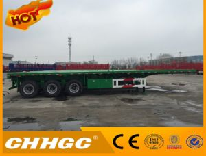 Heavy Duty Container Flatbed Trailer for Sale pictures & photos