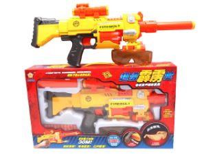 Battery Operated Plastic Soft Bullet Gun (10217042) pictures & photos