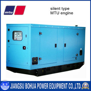 Soundproof 2250kVA China Factory Big Power Mtu Diesel Generator Set