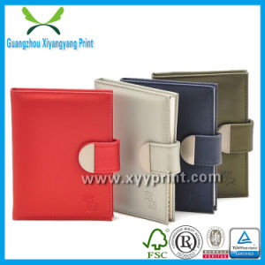 Factory Custom Made Cheap PU Cover Notebook Wholesale pictures & photos