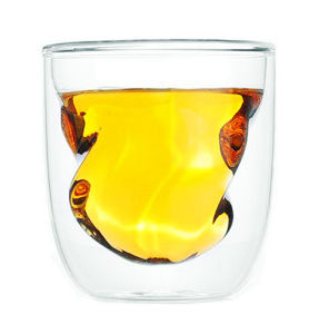 Hand Made Double Wall Glass Whiskey Cup Ice Cups pictures & photos