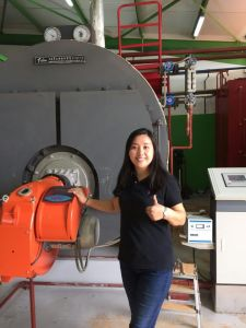 Oil (gas) Fired Tube Steam Boiler (WNS2-1.0-Y/Q) pictures & photos