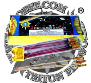 Whistling Moon Travelers Rocket Fireworks pictures & photos