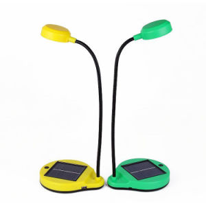 Solar LED Reading Light with Removable Battery (SDL-3025) pictures & photos