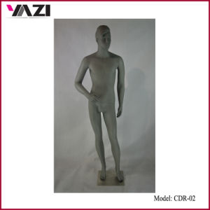 Grey Color Fashion Male Mannequin in Guangzhou Manufacturer pictures & photos