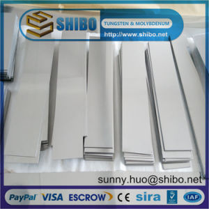 Pure Tungsten Sheet, Tungsten Plate for Furnace Construction pictures & photos