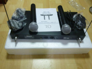 Professional Lx88 III Stage Audio Wireless/Cordless UHF Handheld Microphone pictures & photos
