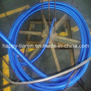 R5 Textile Covered Wire Braid Hydraulic Hose pictures & photos
