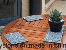 Blue Thin Tile Mini Pebble Mosaic Tile Garden Paving pictures & photos