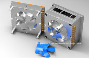 Single Cavity Plastic Table Fan Blade Injection Mould pictures & photos