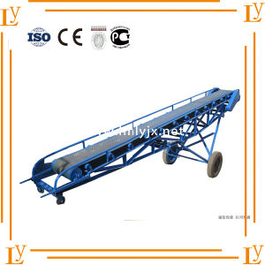 Large Conveing Capacity Grain Belt Conveyor pictures & photos